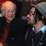Ray Harryhausen and Corin Hardy 25th June 2008